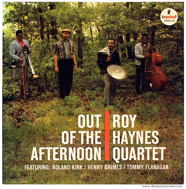 Roy Haynes Quartet - Out Of The Afternoon - Front Cover Vinyl