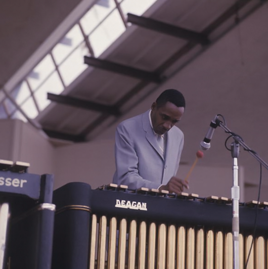 MIlt Jackson at the 1967 Newport Jazz Festival (Photo by David Redfern)