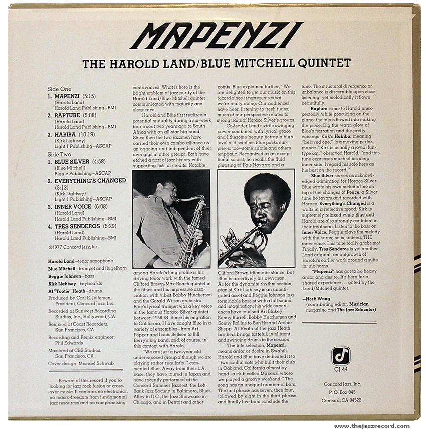 harold-land-blue-mitchell-quintet-mapenzi-back-cover-vinyl-lp