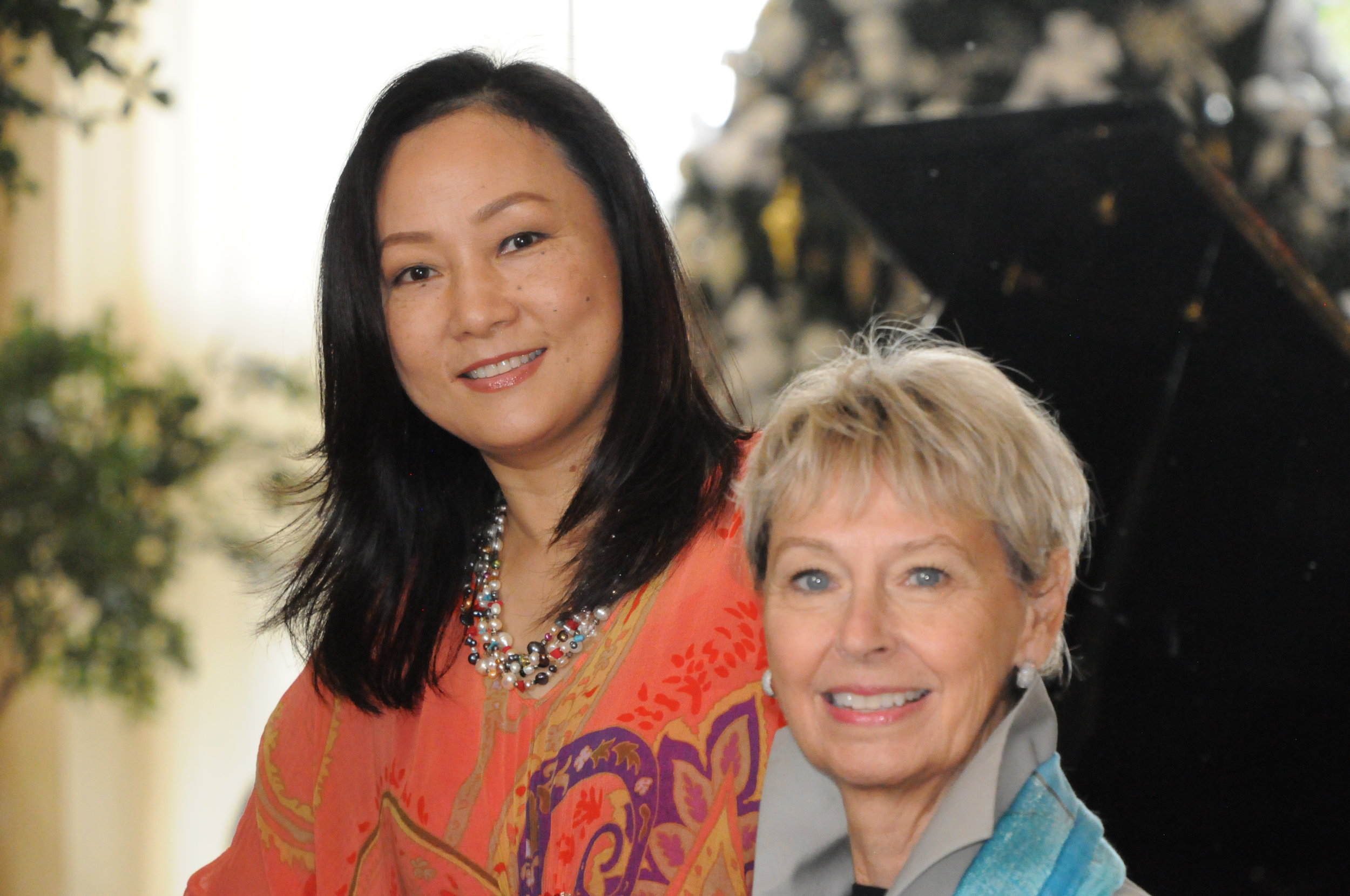Yu Ling Cui & Deborah Hutchison