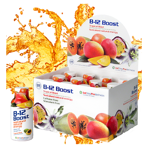 1st Step ProWellness Vitamin B12  Tropical Blast 2oz, 12 pack
