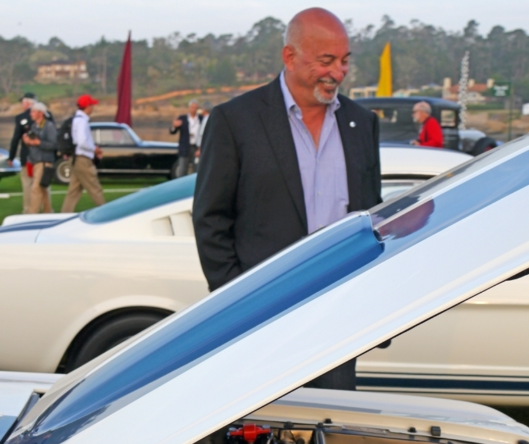 Bobby Rahal at Pebble Beach Concours D'Elegance