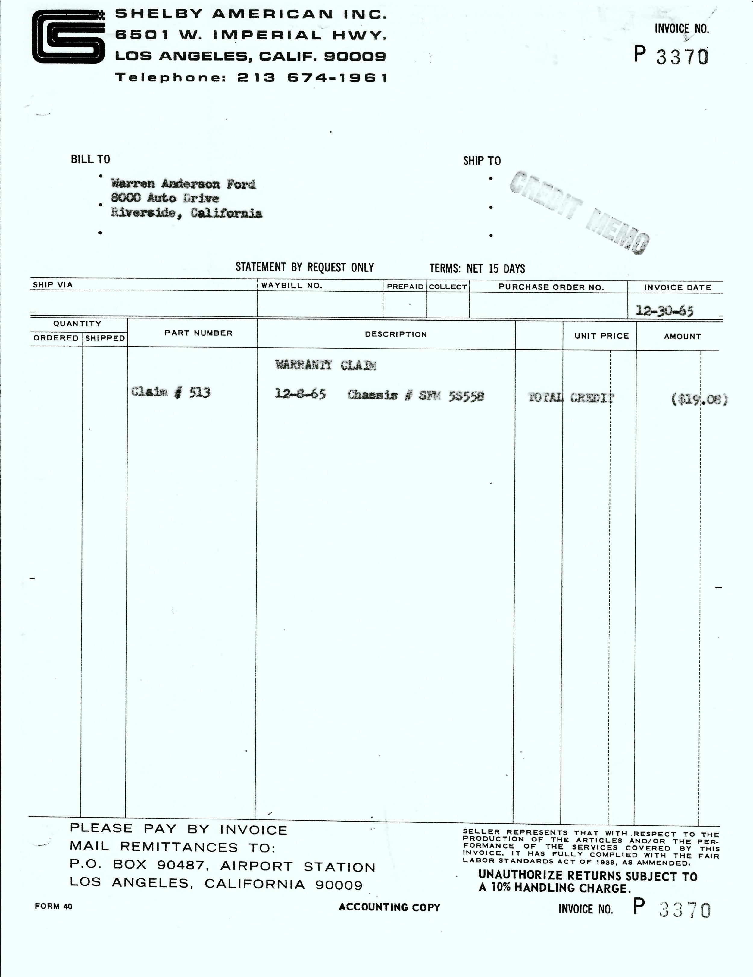 1965 12-30 SAAC Invoice P3370 Credit Memo.jpeg