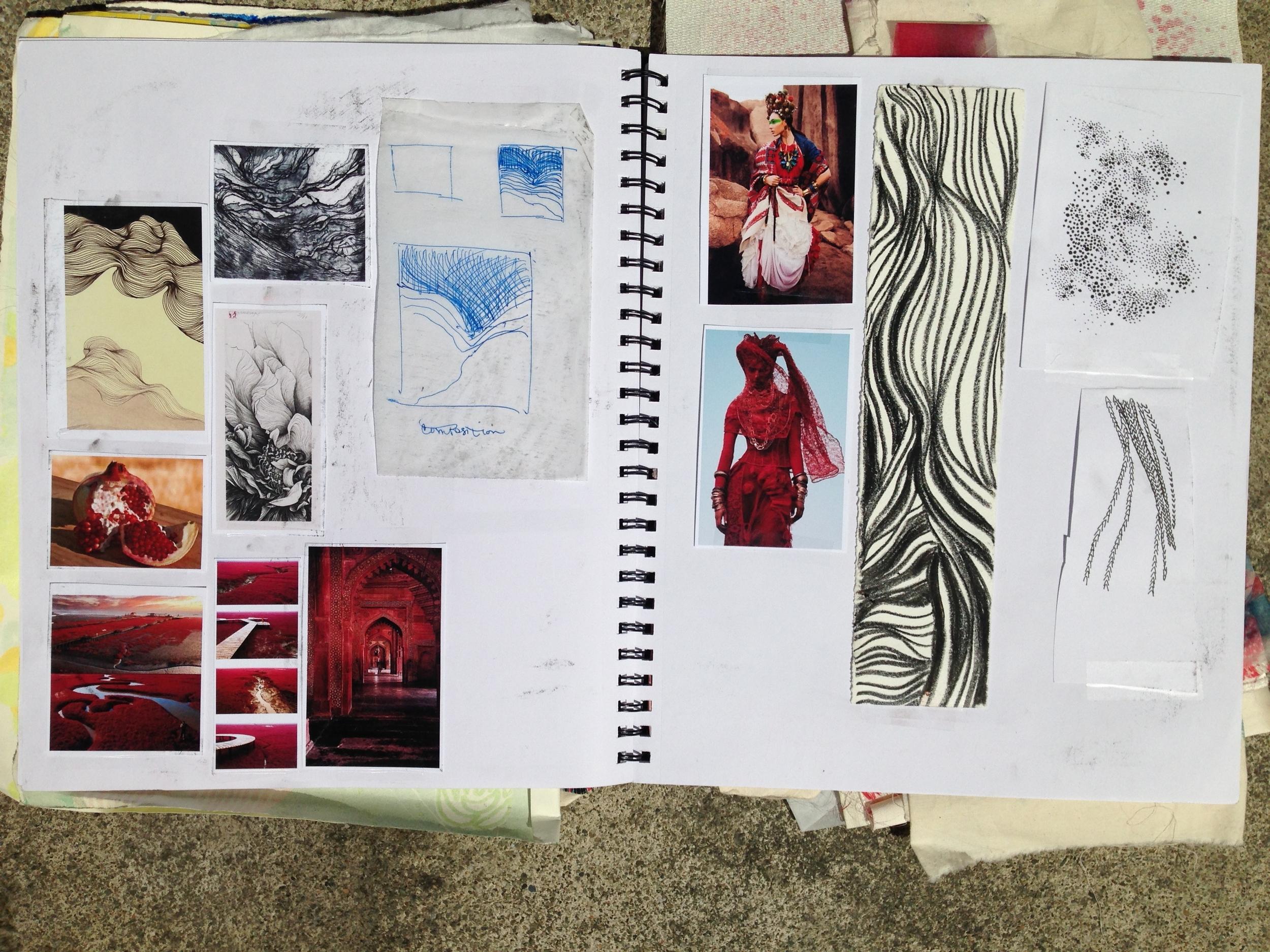 Elizabeth Siedow textile design