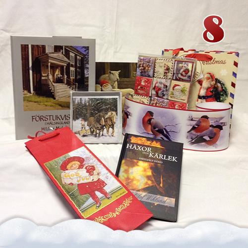Presentpåsar, bonader, böcker & kort