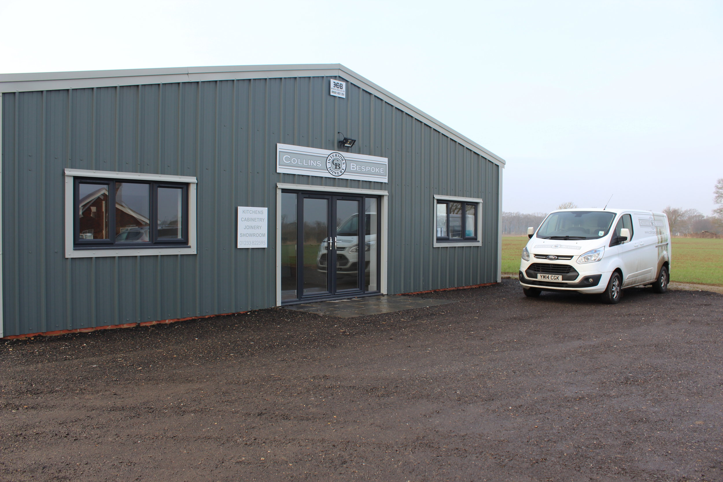 Our new showroom, Unit 40 Old Surrenden Manor, Bethersden, Kent.