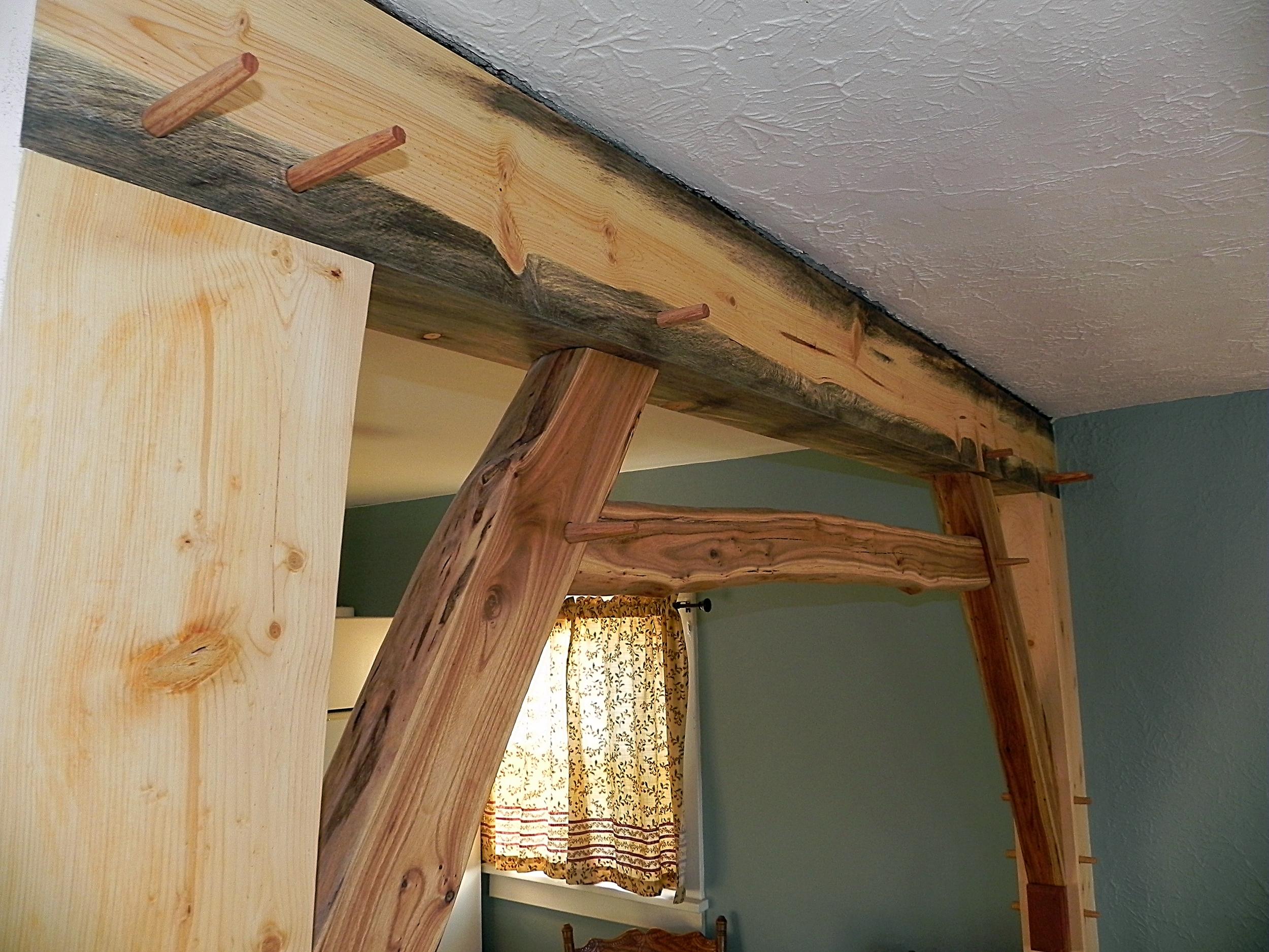 Timber Frame Wall Frame