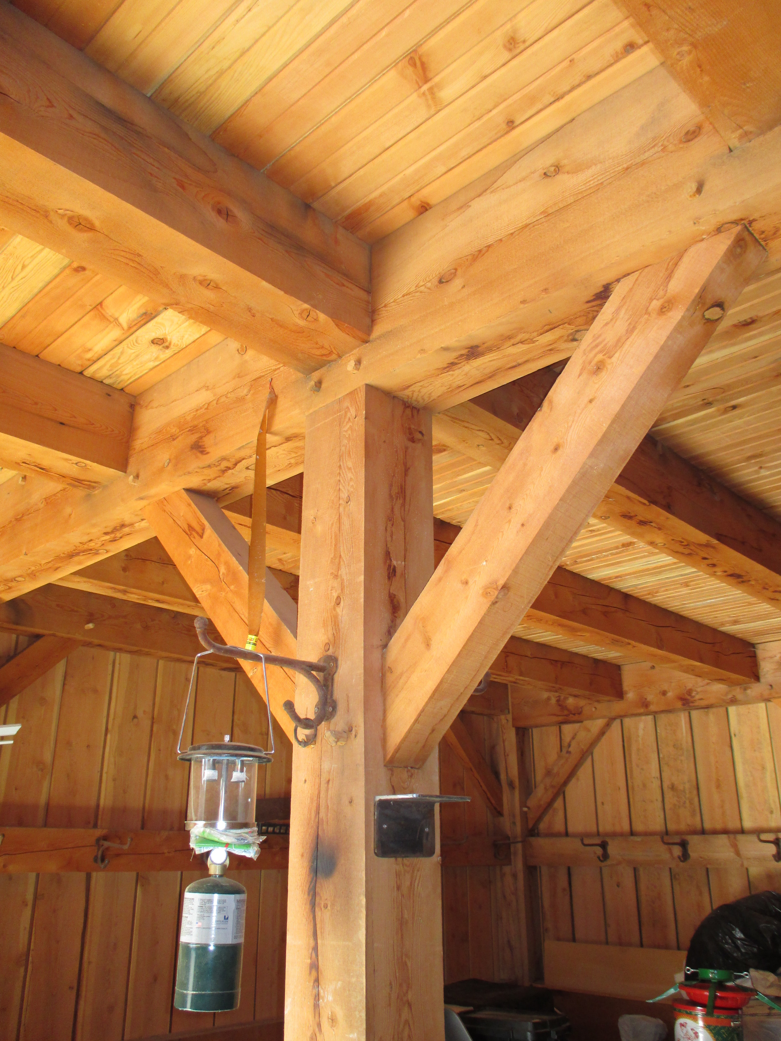 Modern Timber Frame Barn, Colorado