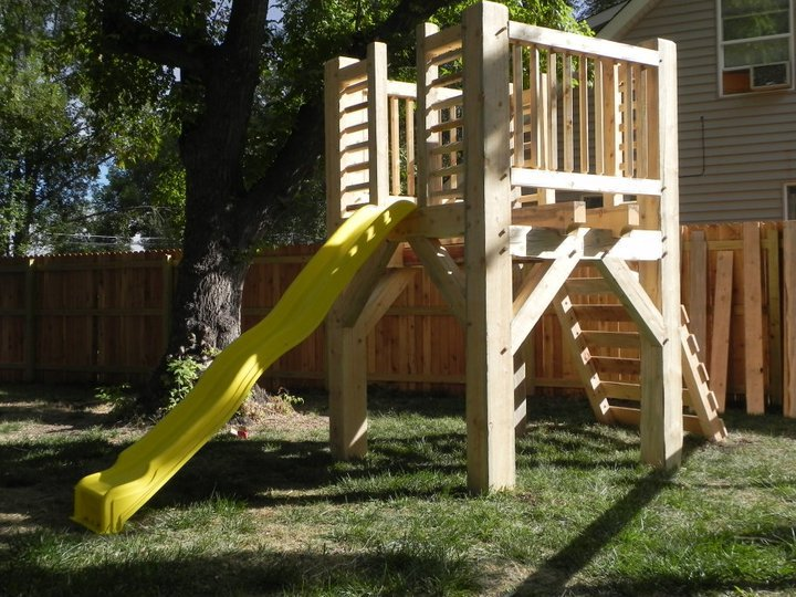 Timber Frame Play Structure