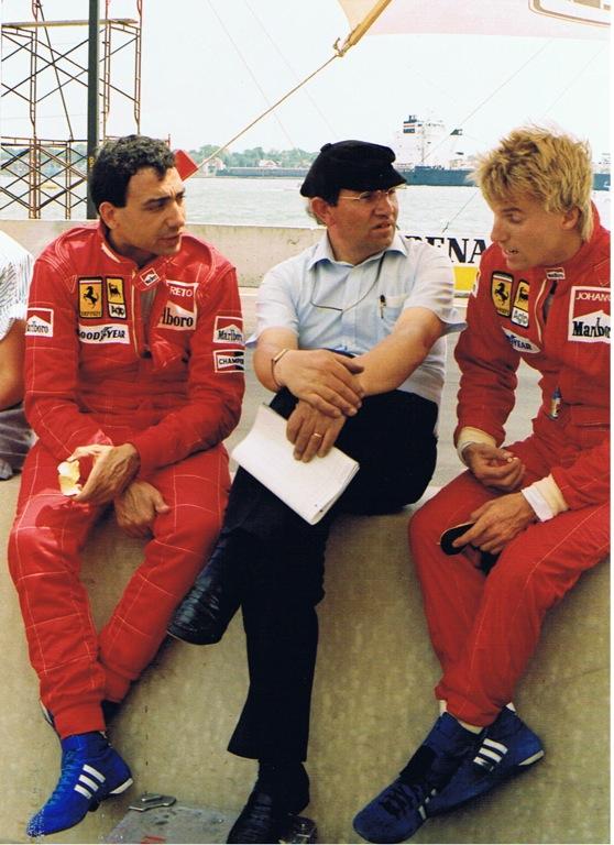 Stefan Johansson Michele Alboreto Tommaini Detroit85.jpg