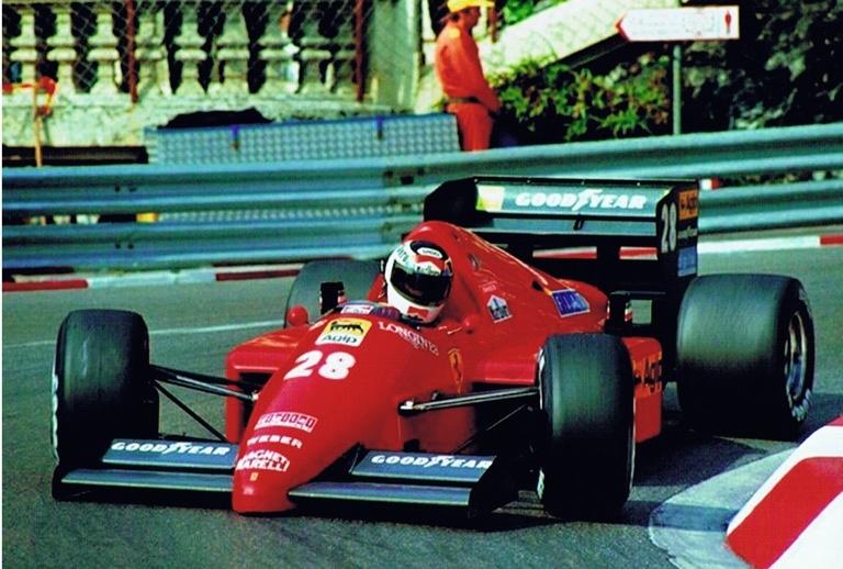 Stefan Johansson Ferrari F1 Monaco loews hairpin.jpg