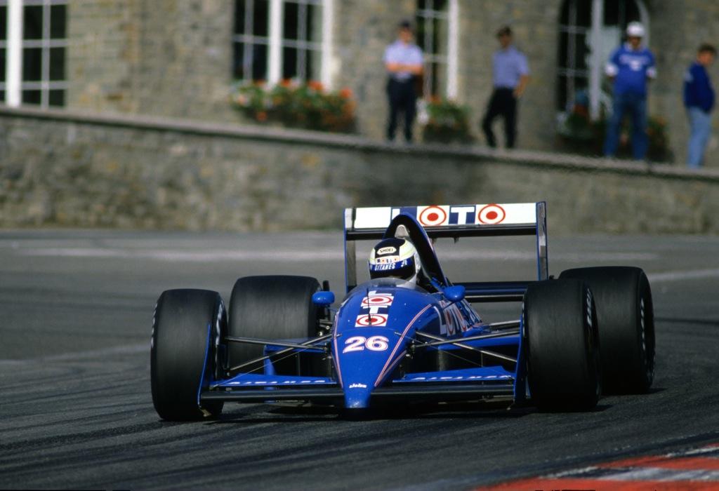 Stefan JOHANSSON(Ligier-1988)Spa.jpg