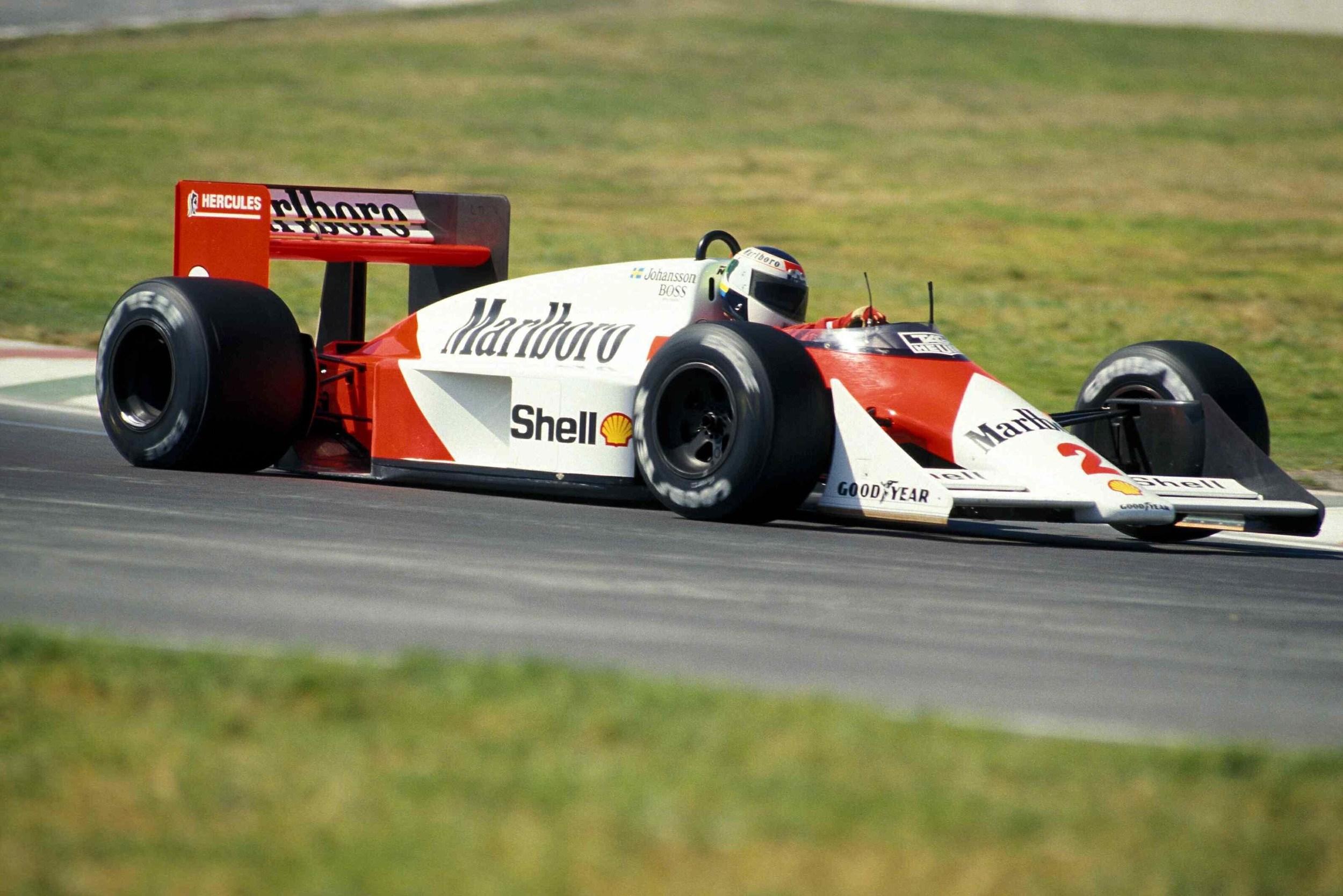 Stefan Johansson - McLaren - Mexican GP 1987
