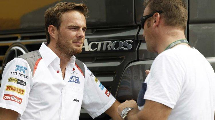 Giedo Van Der Garde is suing the Sauber F1