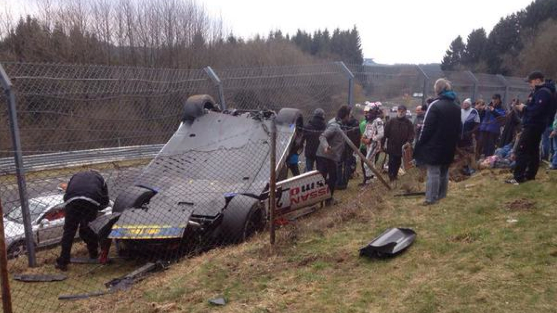 Jann Mardenborough - Nurburgring Crash