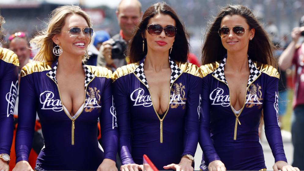 WEC Grid Girls