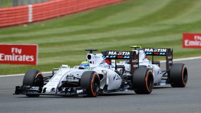 Massa and Bottas