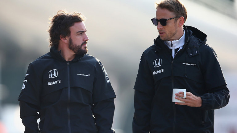 Alonso and Button - McLaren
