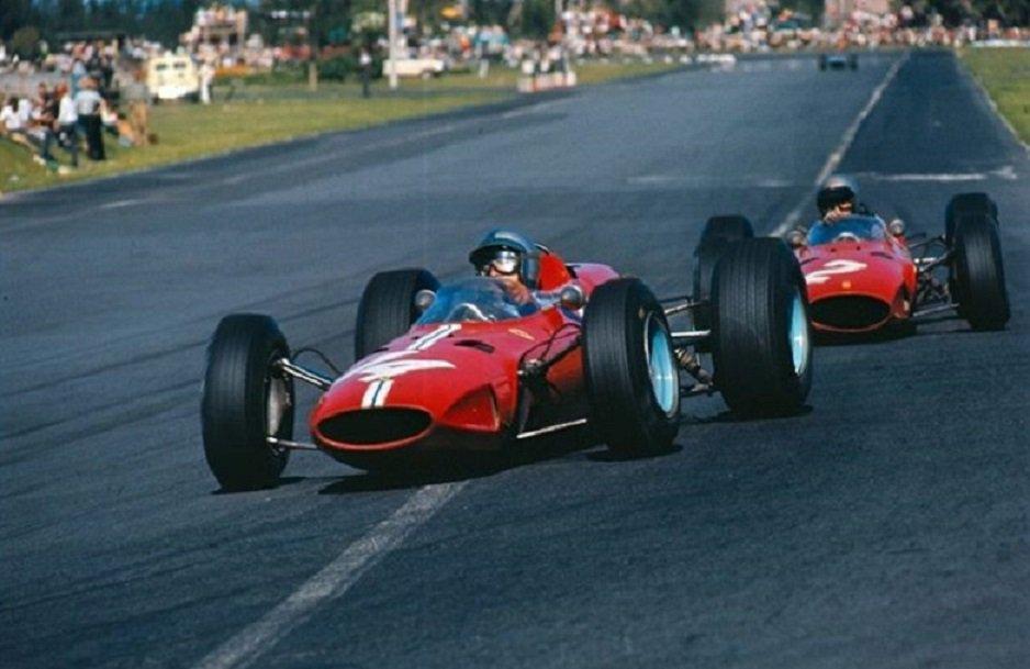 Pedro Rodriguez - Ferrari - MexicanGP - 1965