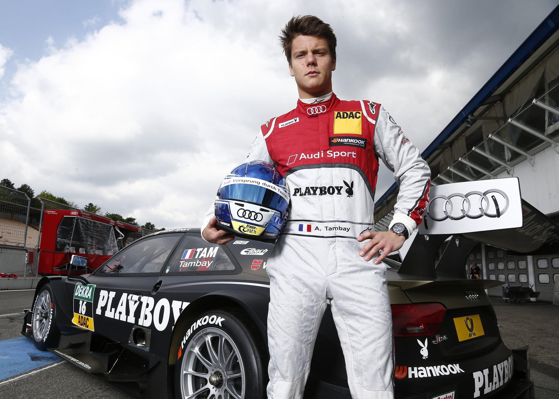 Adrien Tambay - DTM Racing Driver