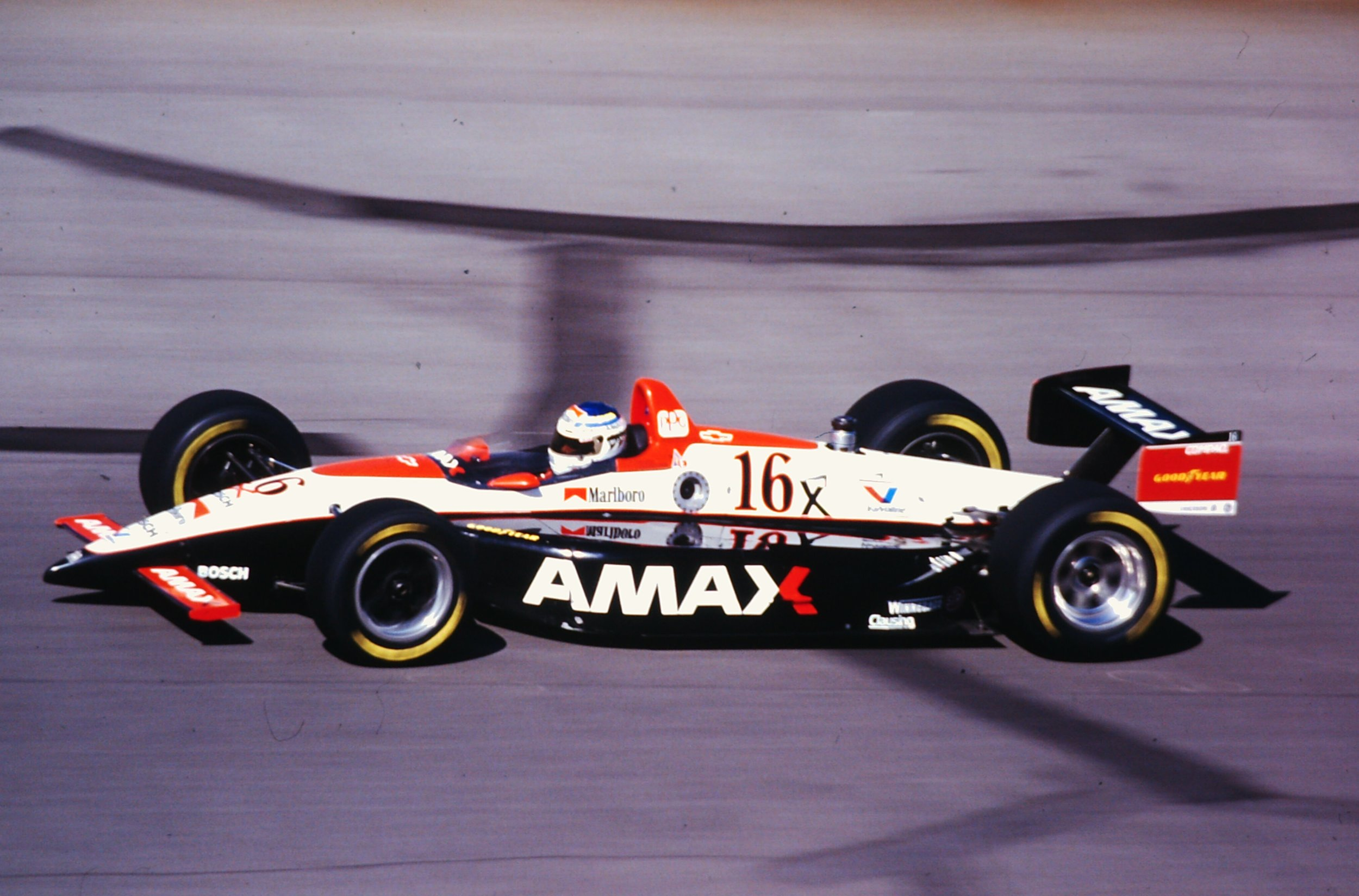 Stefan Johansson racing Indy 500 - 1993