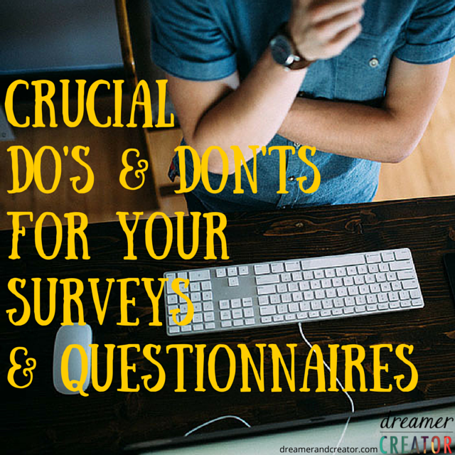crucial-dos-dots-for-your-surveys-questionnaires