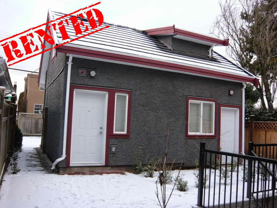 5187 Sherbrooke (Laneway House)  Square Footage: 500ft² Bedrooms: 1 Bathrooms: 1 Price/month: $700/month