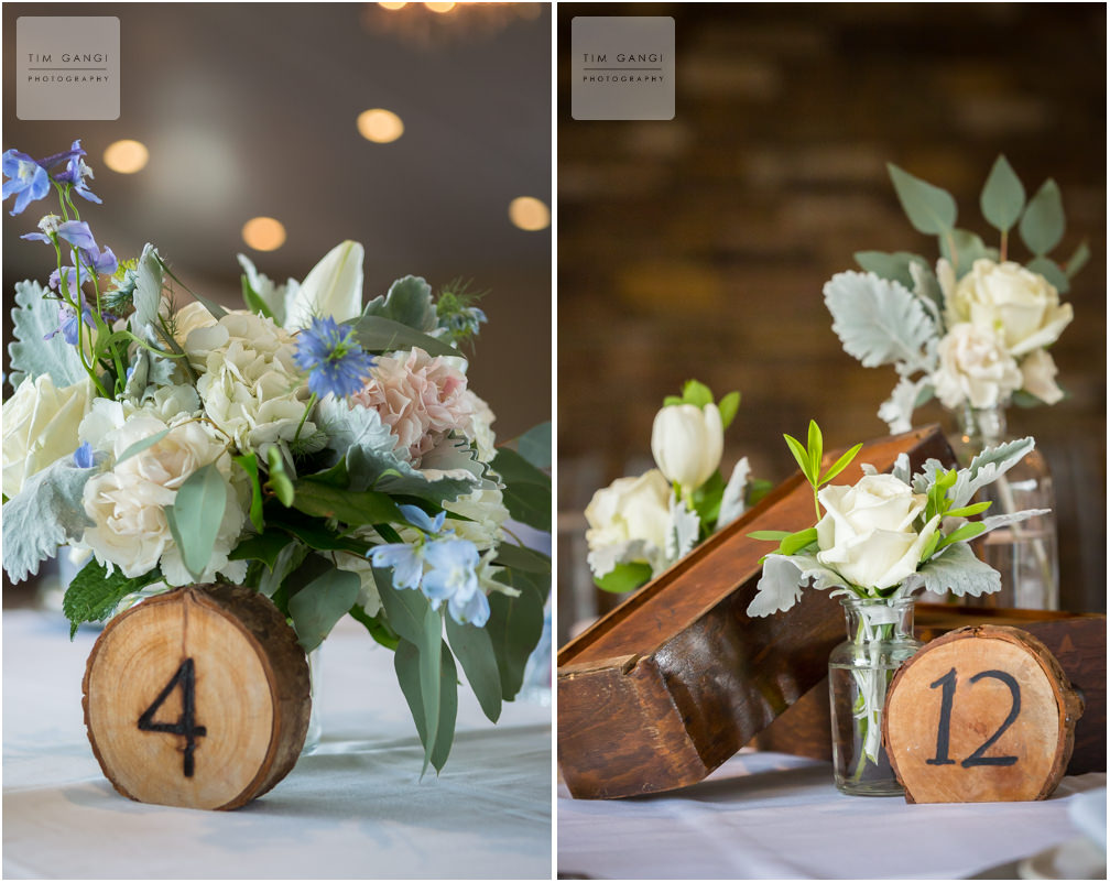 These details have the perfect touch of rustic charm.