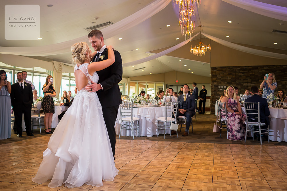 First dance as newlyweds!