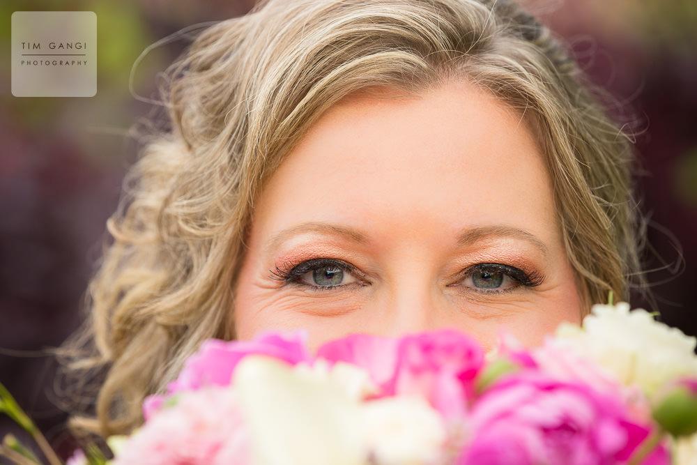 What better way to showcase Sherri's beautiful blue eyes?