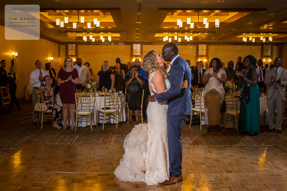 First dance as a married couple. Such a perfect moment to share in front of all your loved ones!