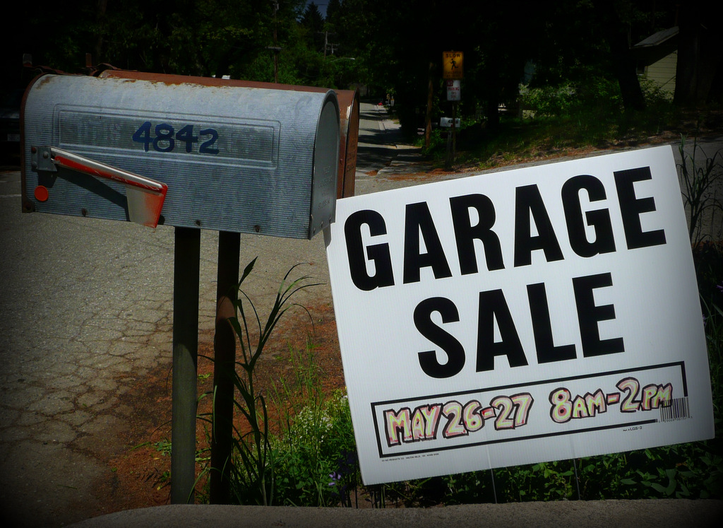 Garage Sale May 26-27
