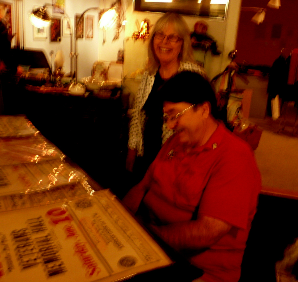 Linda and Don at piano