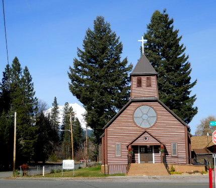 McCloud Log Church