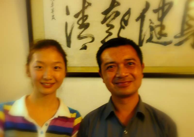 SiYu and Liu Jun
