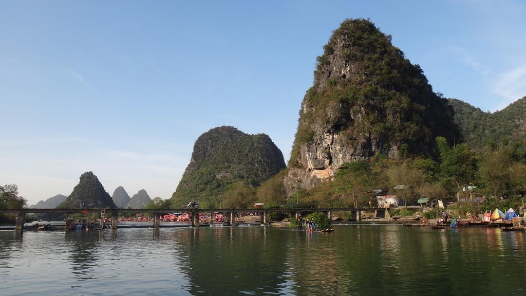 Yangshuo Yulong River rafting