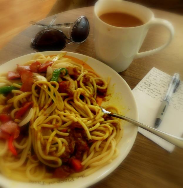 thai curry pasta