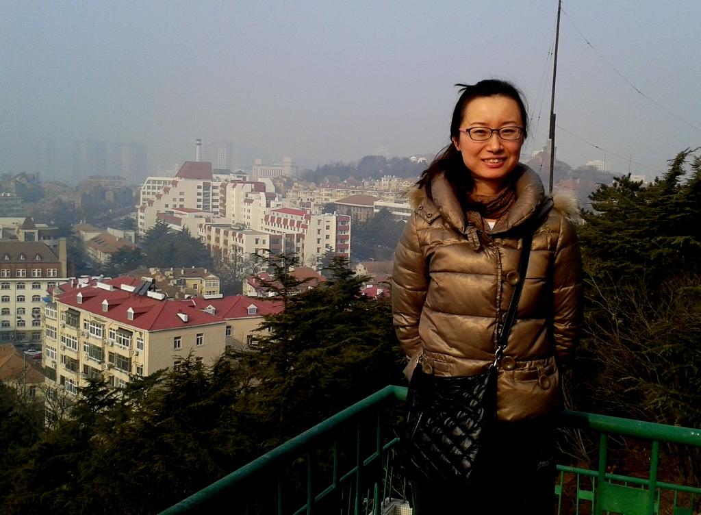 Chuyi with Xiao Qingdao panorama