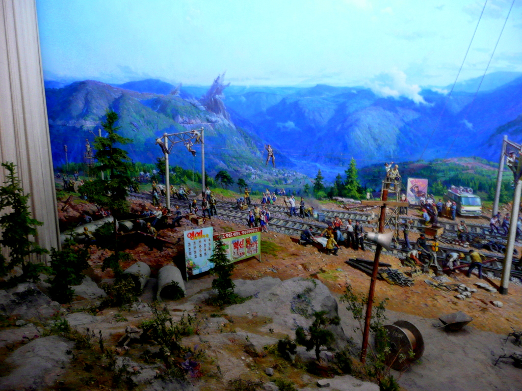 Diorama of electrification and conversion