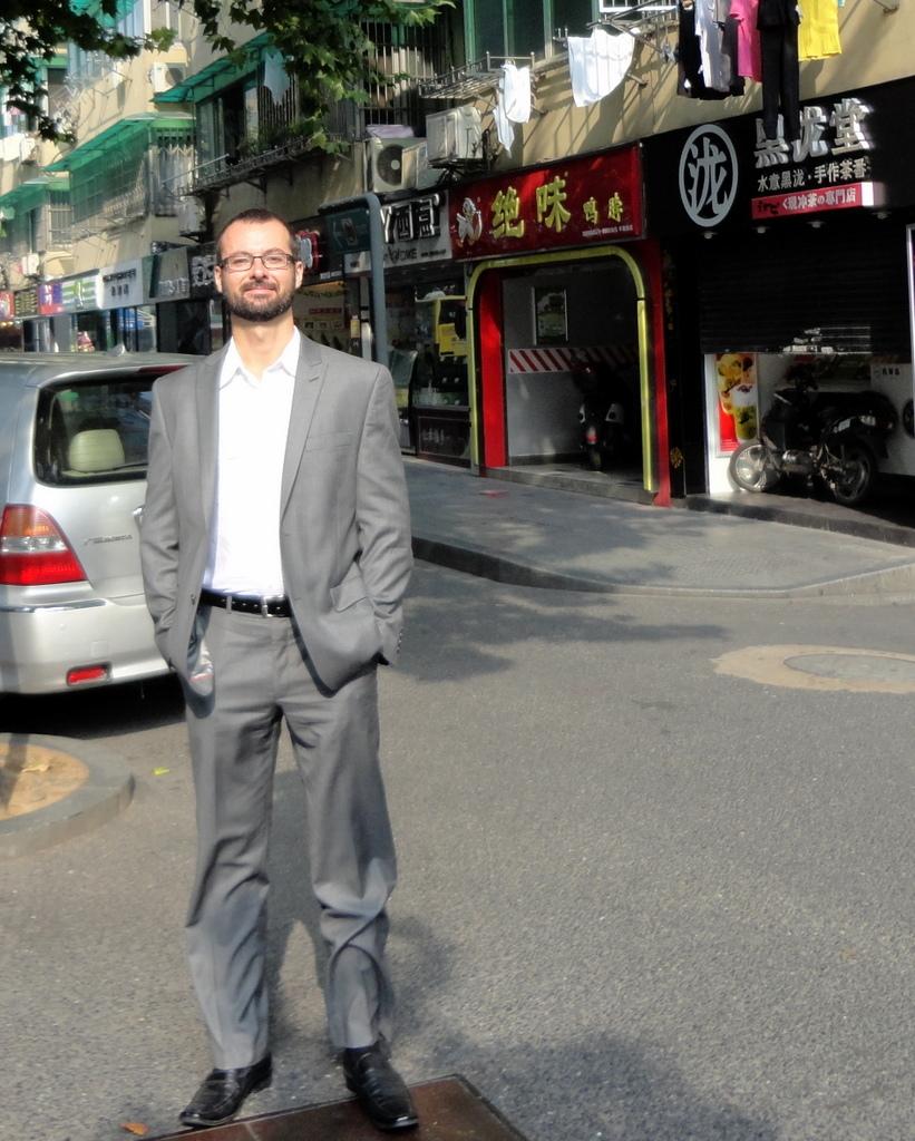 James in Shanghai