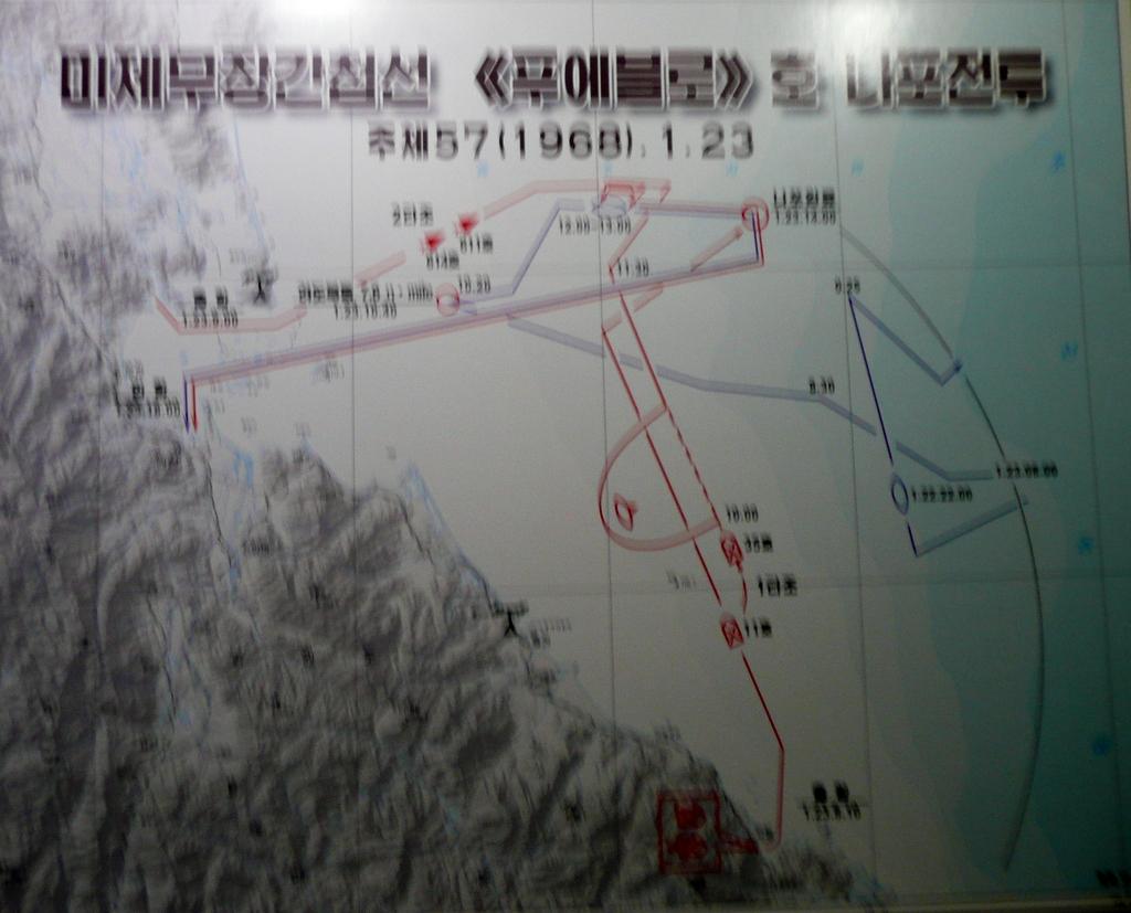 Map of Pueblo capture