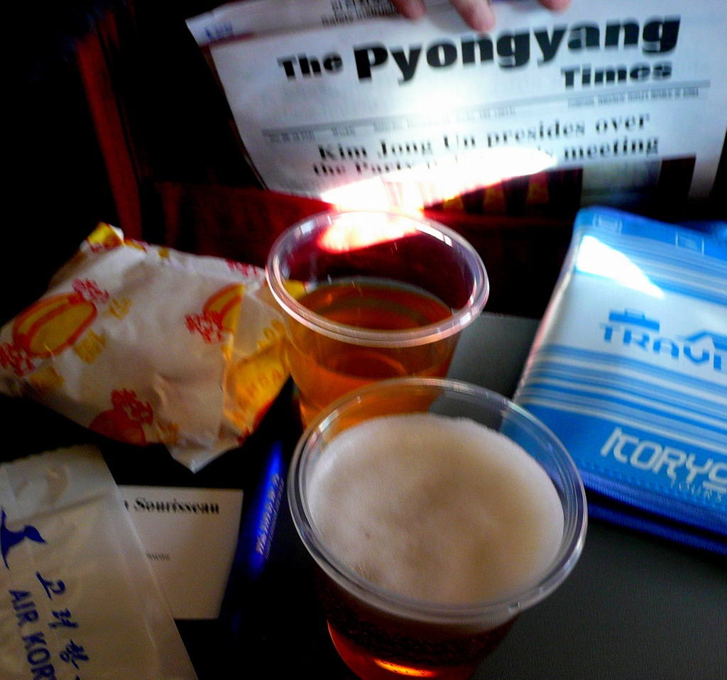 Pyongyang Times and travel refreshments