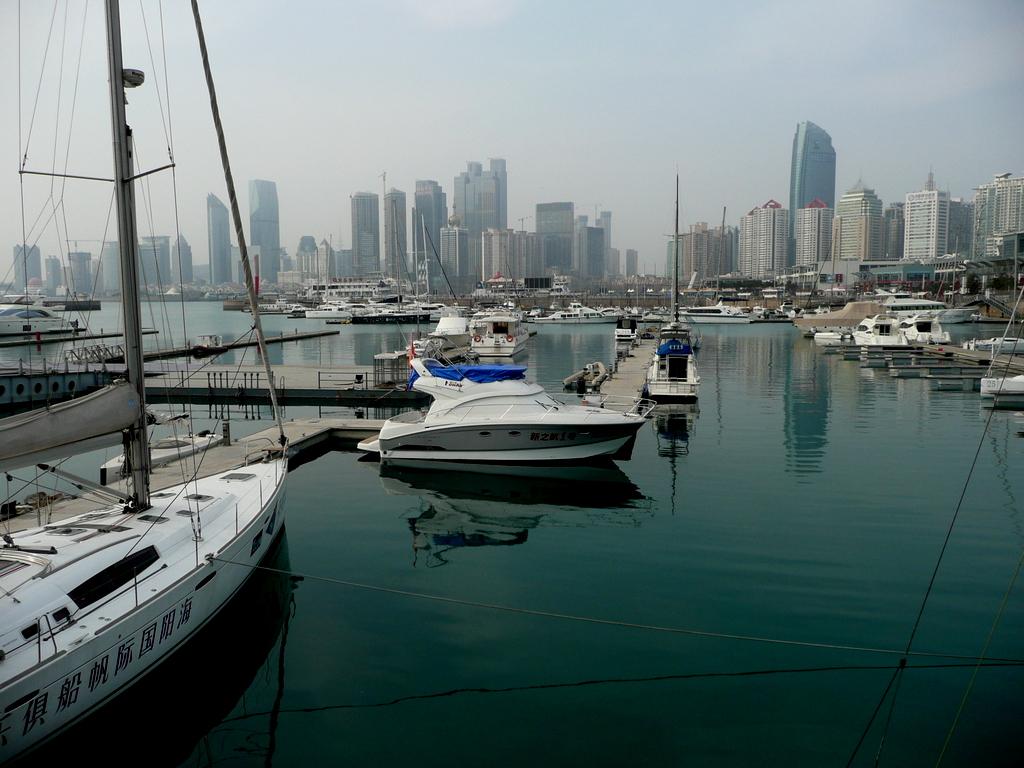 Qingdao Sailing Center marina