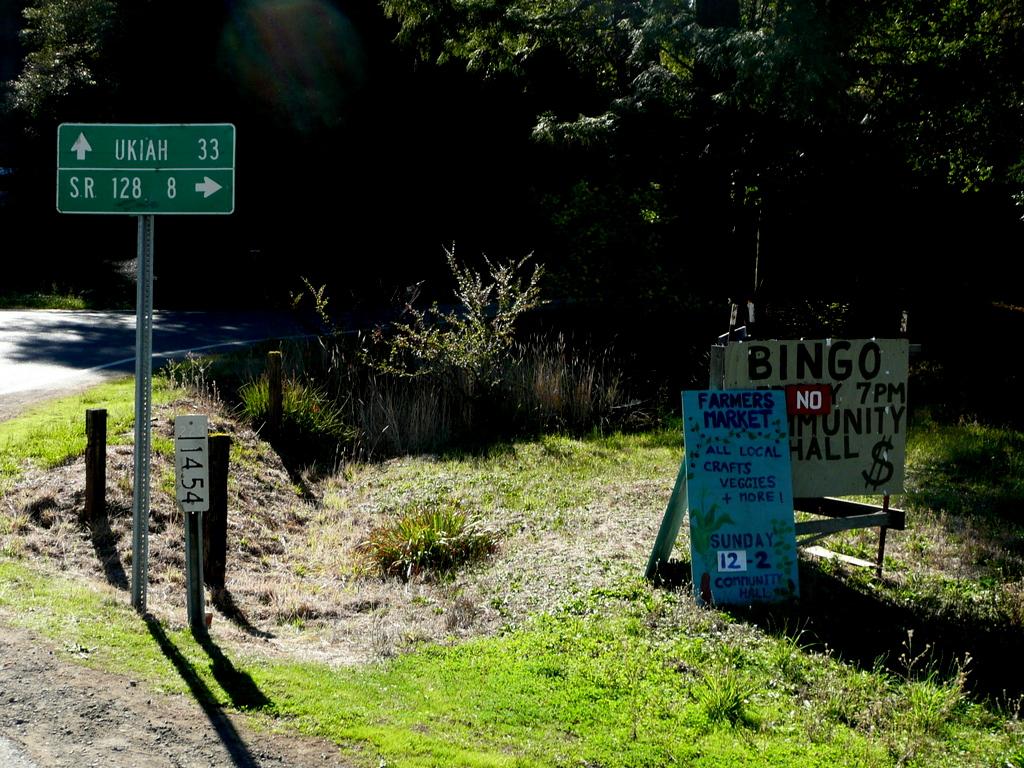 Crossroads to Ukiah