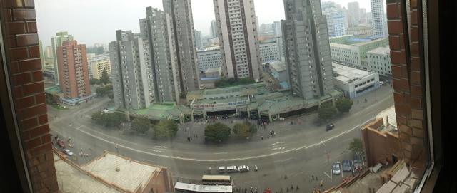 Downtown Pyongyang