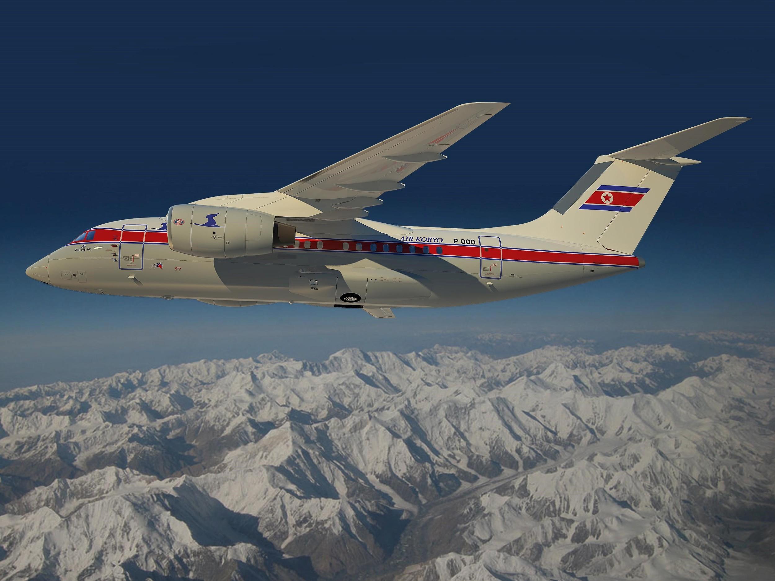 AN24 40-seat airplane