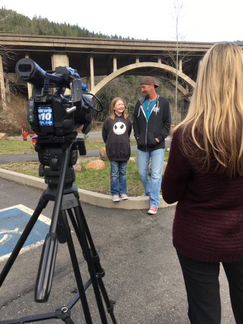 Channel 10 News, Medford, February 14, 2017