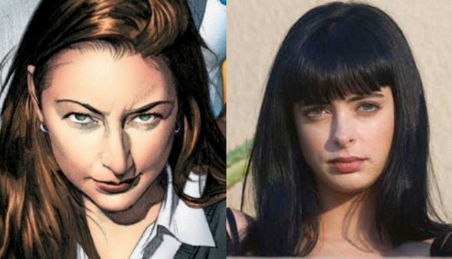 Jessica Campbell Jones Cage played by Krysten Ritter