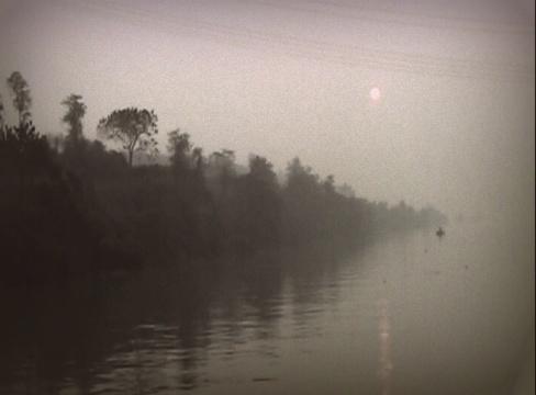 Yangtze sunset