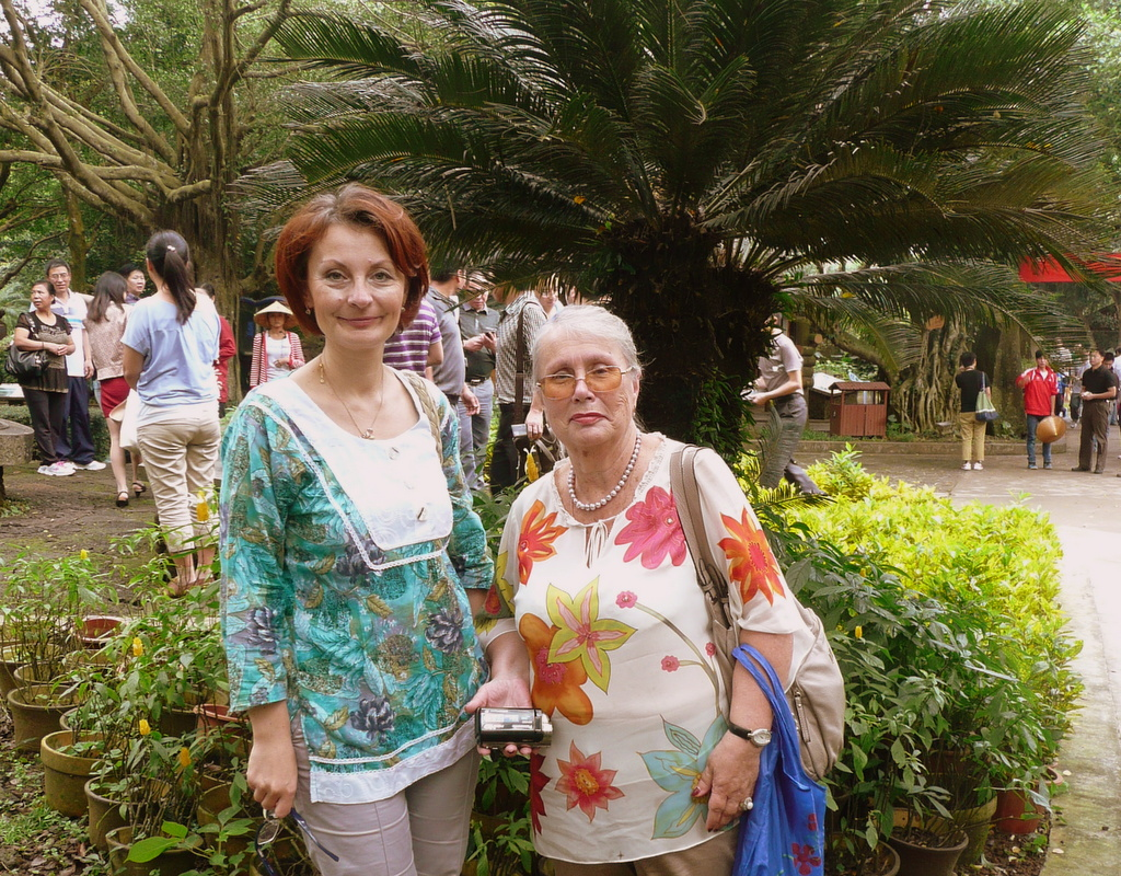"""In real life, I met two elegant ladies from  Vladivostock,  Russia , Alla Sheveleva and Viktoria Timchenko from the Far Eastern Federal University  at the  CAFIC  conference in Hainan, China, in 2013. They are mother and daughter researchers who presented in Section 17 with me. The description of their research,  Gender and Complimentary Discourse , from the conference booklet, """"The paper is aimed at describing gender variability of men's and women's communicative behavior in the complimentary speech acts correspondingly with the vector of compliments."""""""